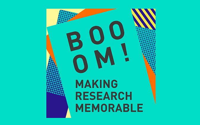 BOOOM! Making Research Memorable by Ed McKeon