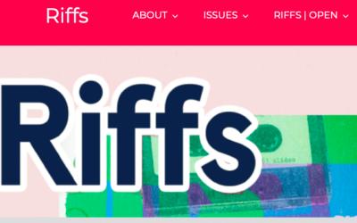 Research Spotlight: Riffs journal