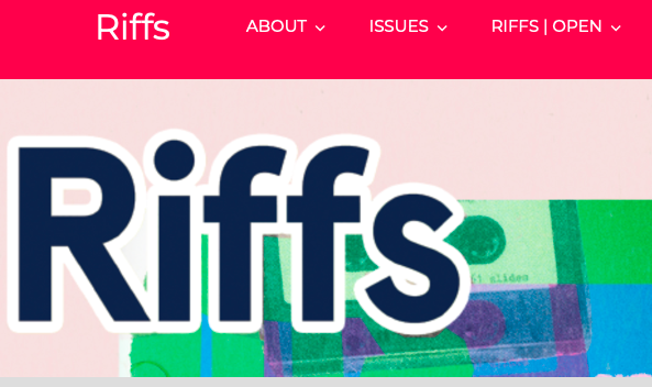Research Spotlight: Riffs journal