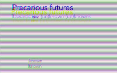 Call for proposals: Precarious Futures